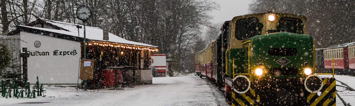 Experience the only 1000 mm Narrow Gauge Line in Rhineland Palatinate.
